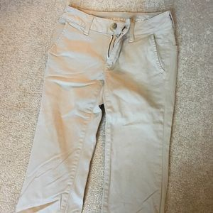 Women's size 00 short khaki pants